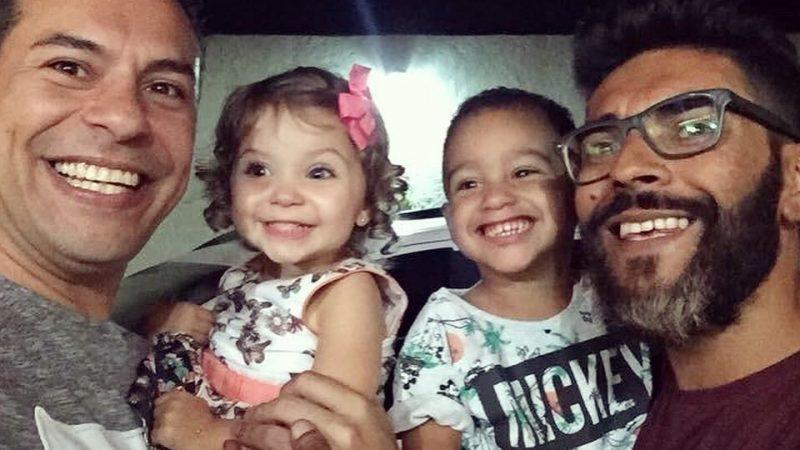 família: casal Felipe e Paulo