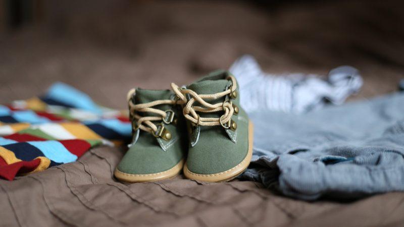 Calçado de recém-nascido
